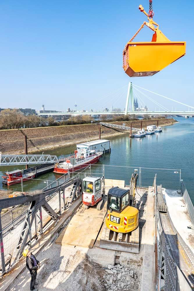Drehbrücke Köln Deutz